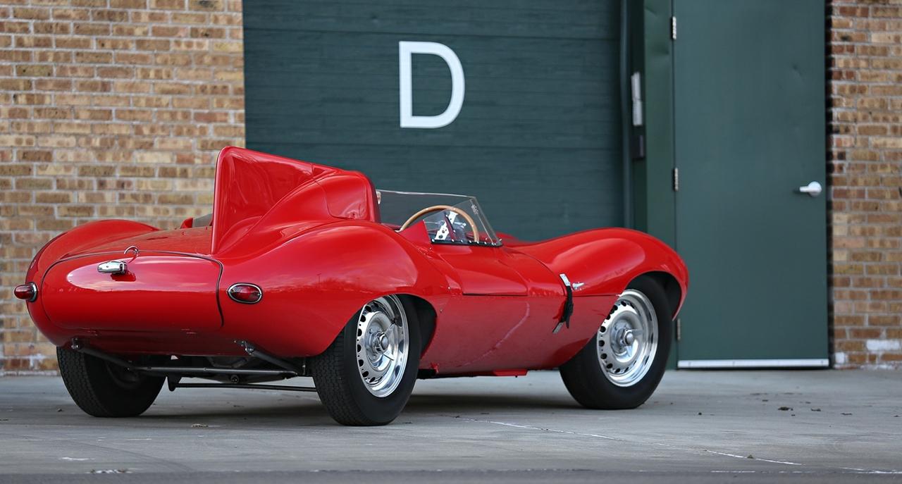 Jaguar Type D : The big red cat ! 2
