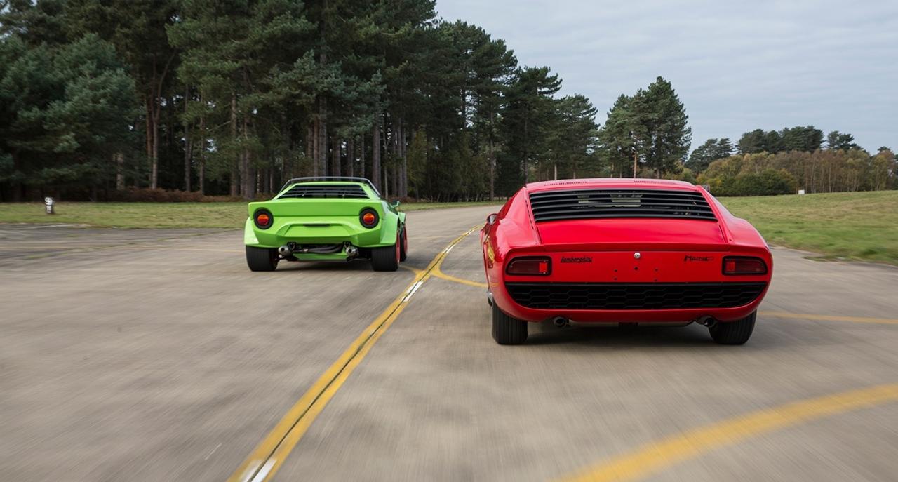 Lancia Stratos & Lamborghini Miura - Jogging vs Tenue de soirée ! 11