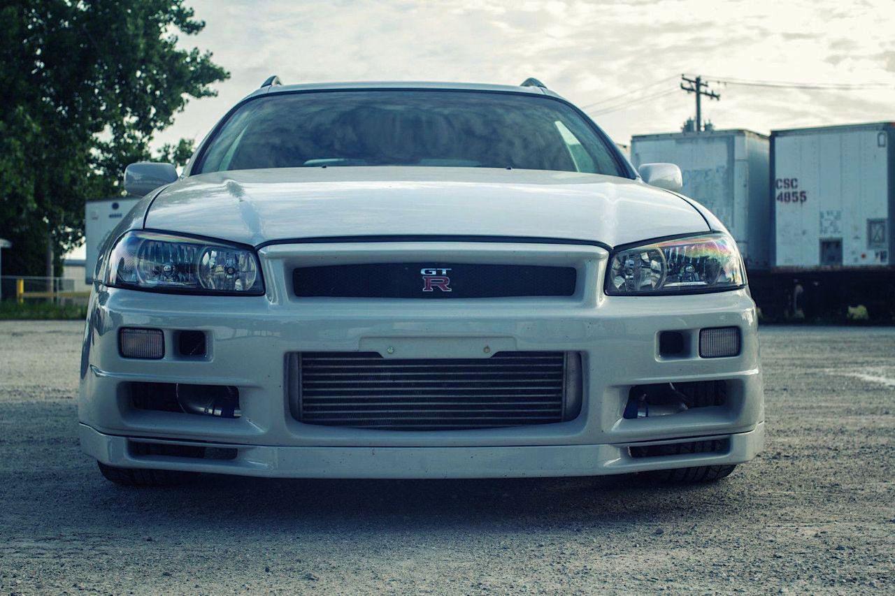 Nissan Stagea... R34 ! A moins que ce soit le contraire ?! 44