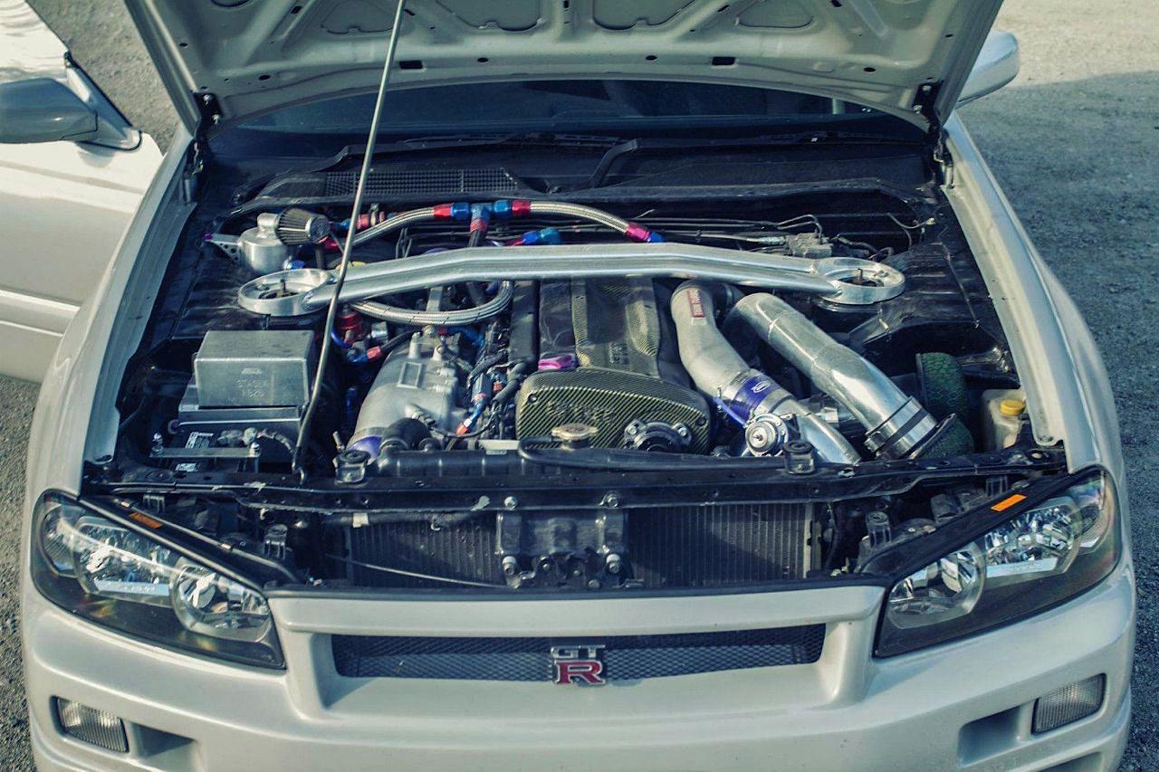 Nissan Stagea... R34 ! A moins que ce soit le contraire ?! 41