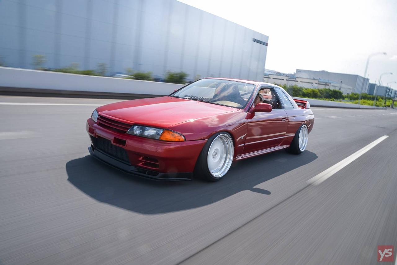 Takumi's Skyline R32 GTR - Le rouge, ça va plus vite ! 14