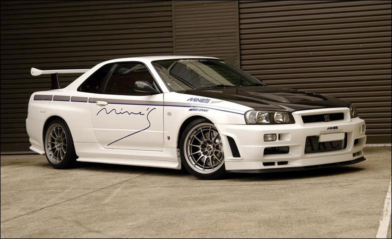 Toyota Supra Amuse vs Mine's BNR34 : Life is Gran Turismo... 12