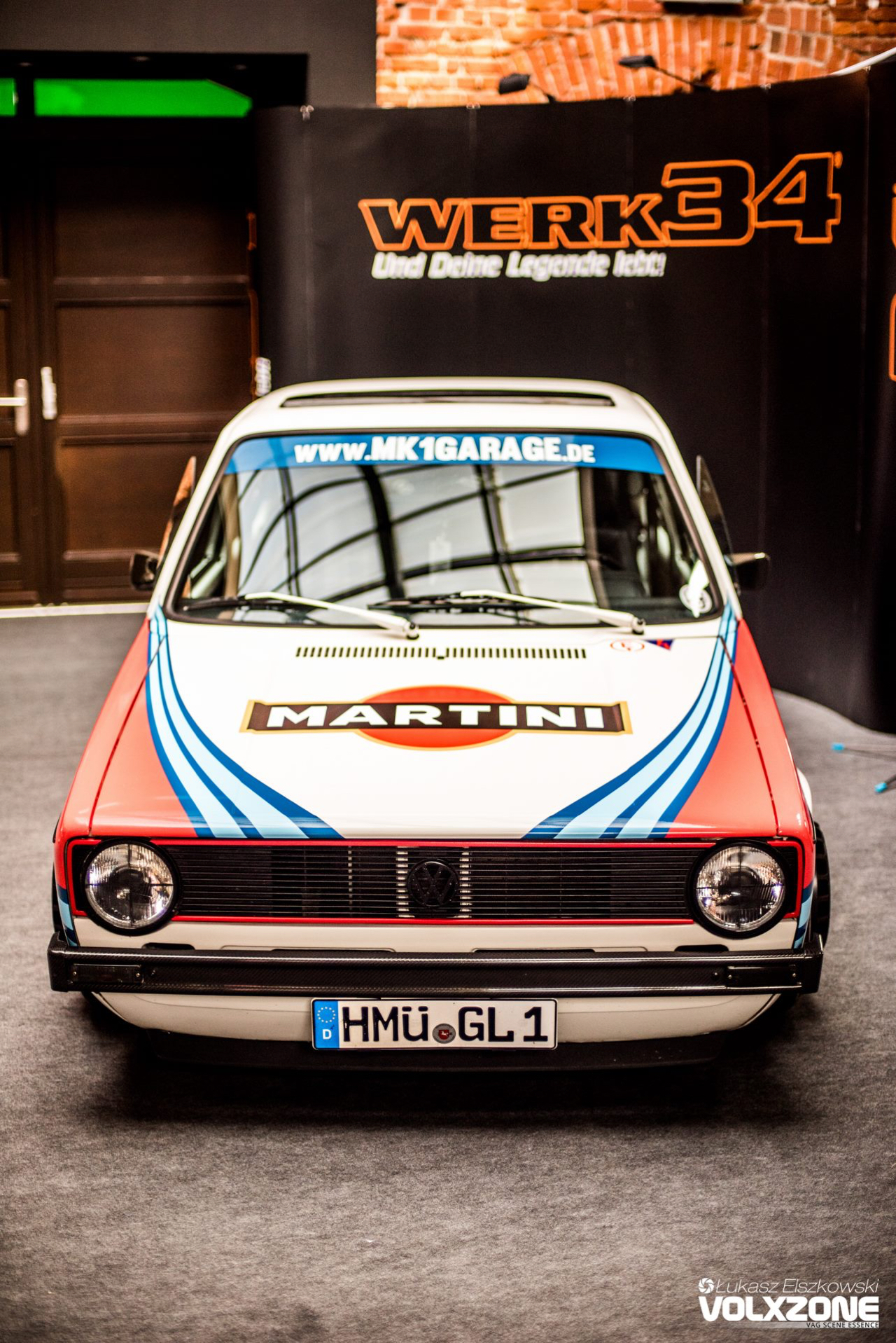 VW Golf 1 : Un p'tit coup de Martini ? 1