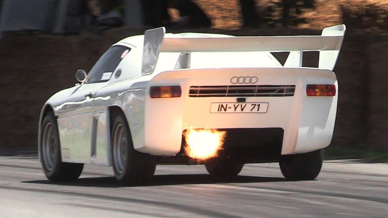 Engine Sound : Audi Sport Quattro RS 002 - Rescapée du Groupe S ! 8
