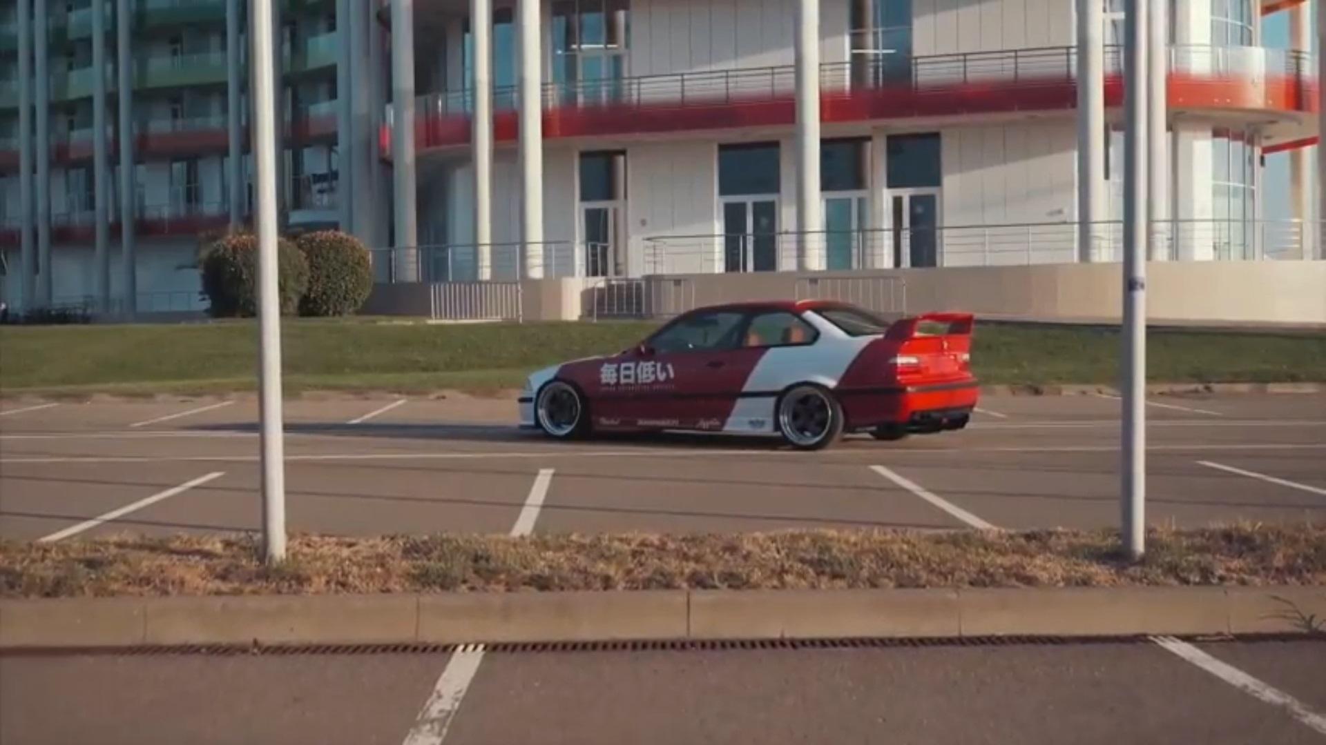 BMW E36 Turbo - World Tour ! 19