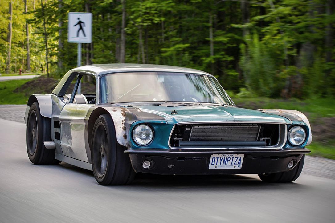 '67 Ford Mustang Widebody - Widebadass ! 2
