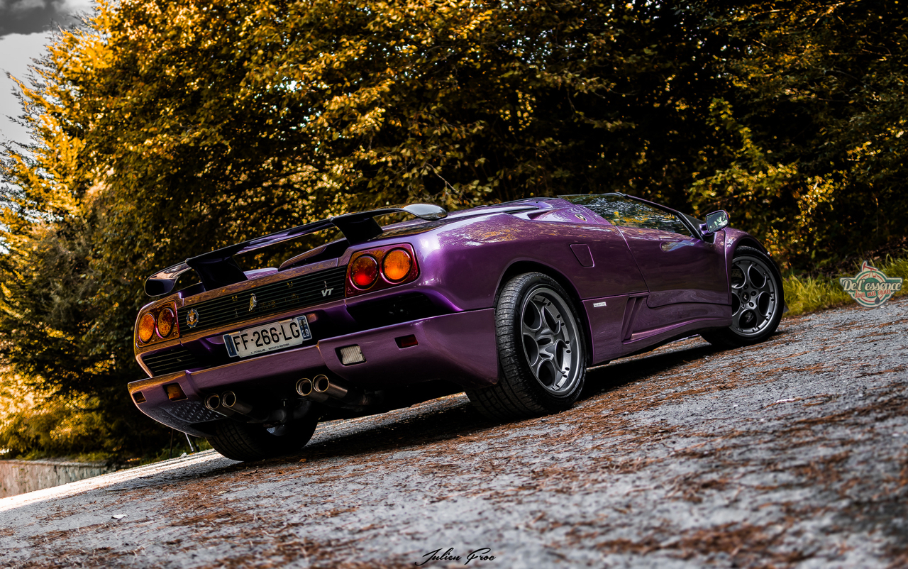 """Lamborghini Diablo VT Roadster - """"Ouch, c'est quoi ce truc ?!"""" 19"""