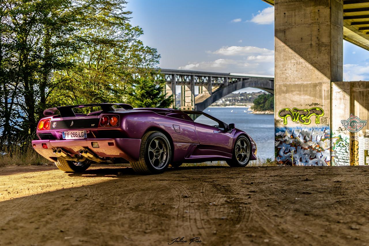 """Lamborghini Diablo VT Roadster - """"Ouch, c'est quoi ce truc ?!"""" 6"""