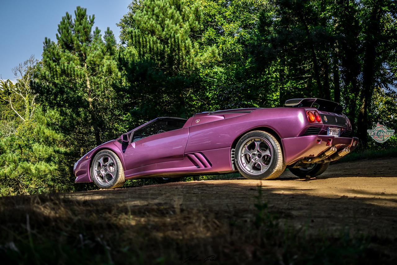"""Lamborghini Diablo VT Roadster - """"Ouch, c'est quoi ce truc ?!"""" 11"""