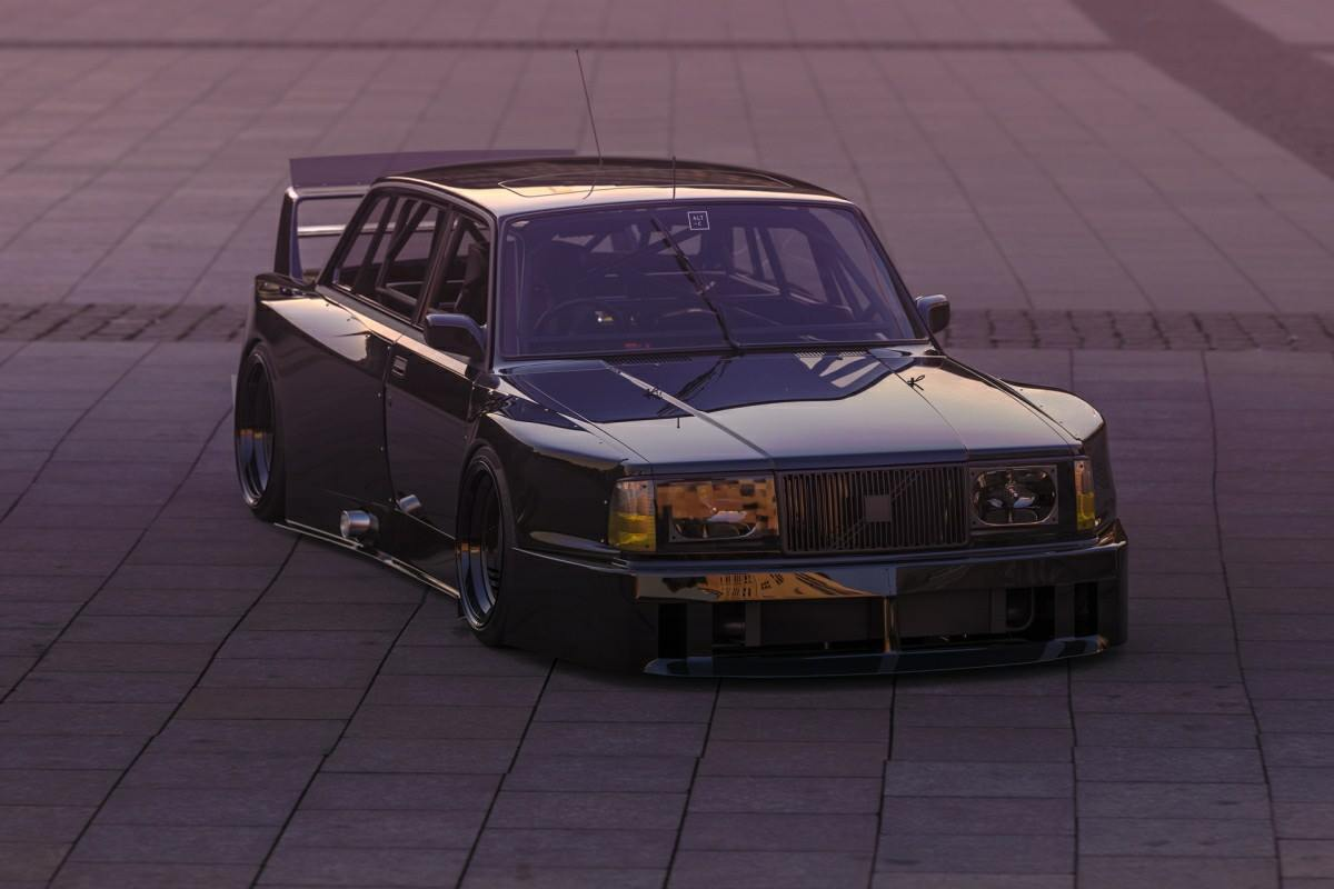 Virtual Volvo 240 GL - Not your Average Project ! 23