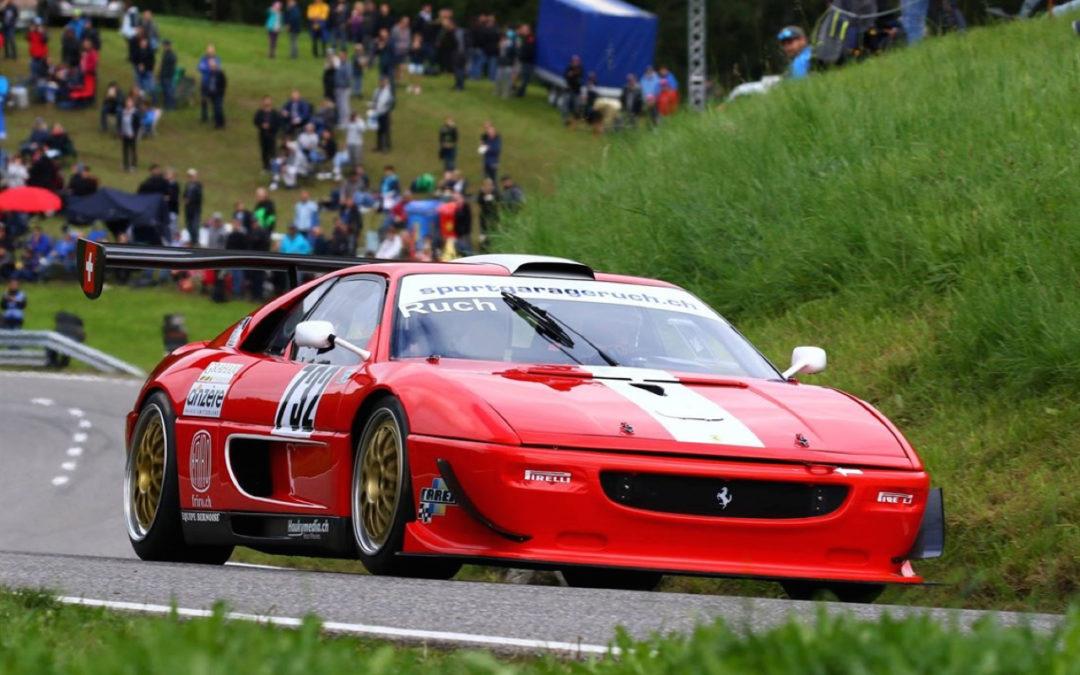 Hillclimb monster : Ferrari F355 GT en V8 Zytek !