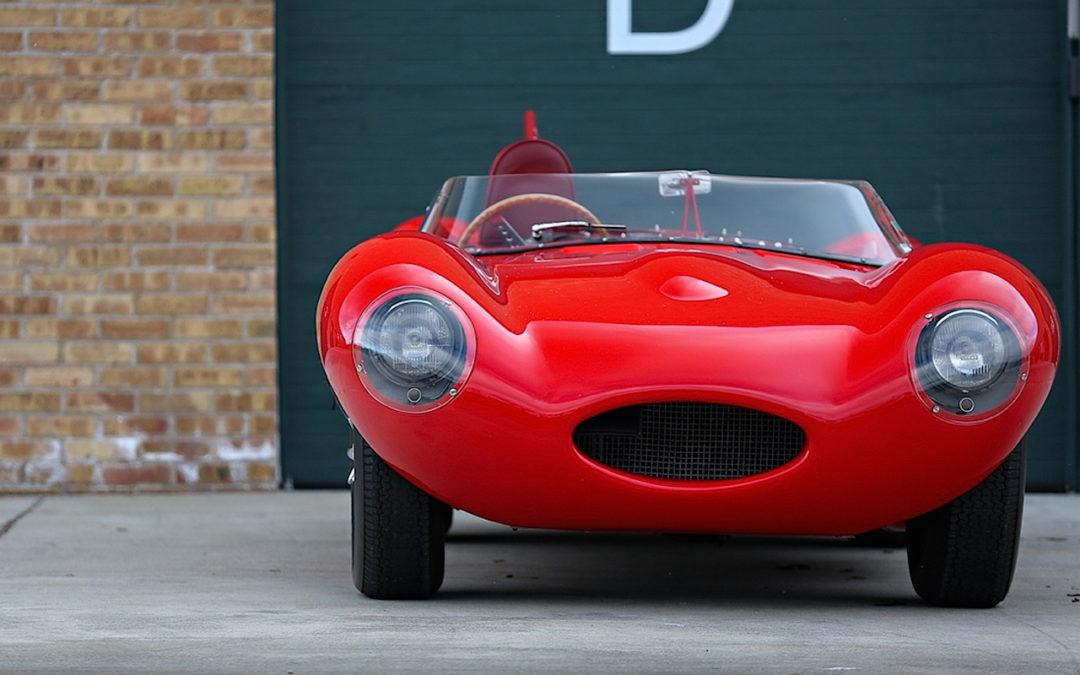Jaguar Type D : The big red cat !
