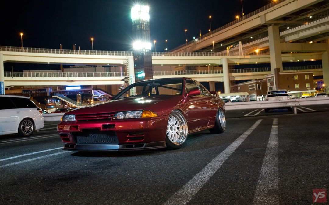 Takumi's Skyline R32 GTR – Le rouge, ça va plus vite !