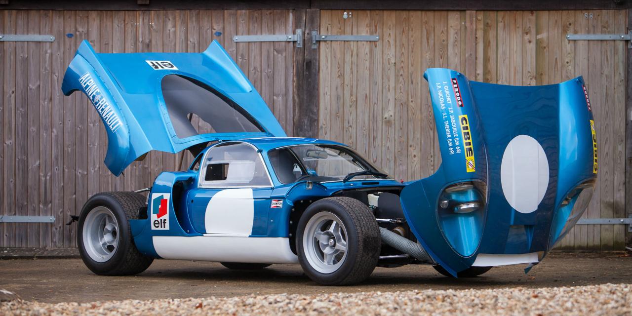 """L'unique Alpine A220 """"courte"""" : Après la piste, le rallye ! 73"""