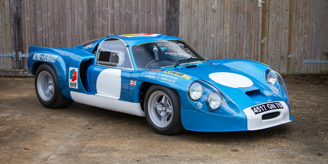 """L'unique Alpine A220 """"courte"""" : Après la piste, le rallye ! 72"""