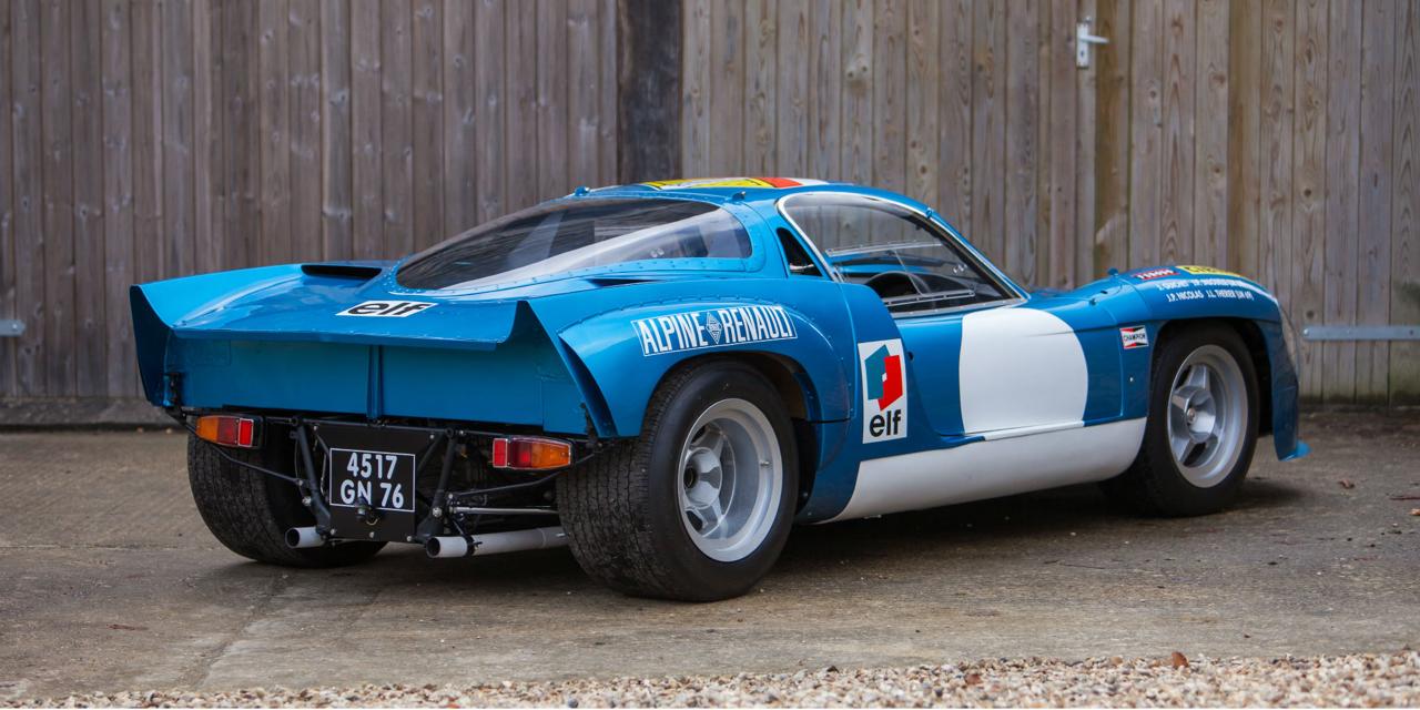 """L'unique Alpine A220 """"courte"""" : Après la piste, le rallye ! 77"""