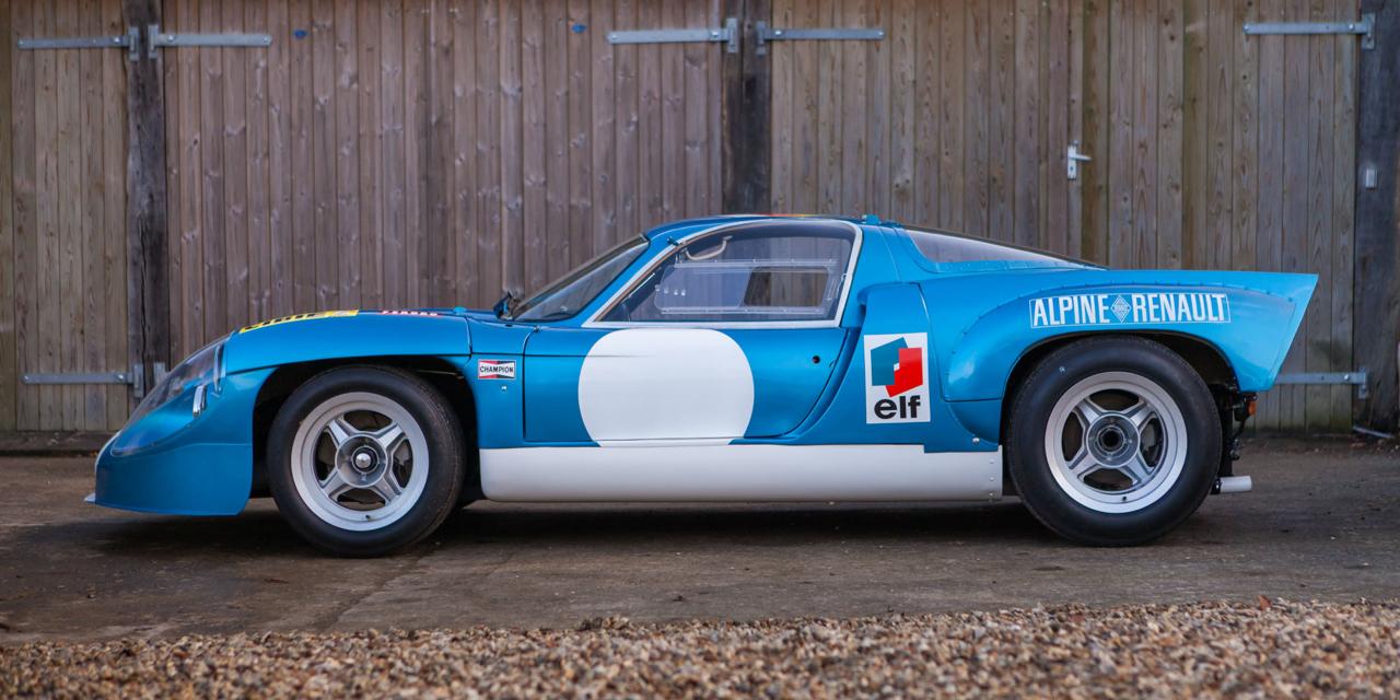 """L'unique Alpine A220 """"courte"""" : Après la piste, le rallye ! 71"""