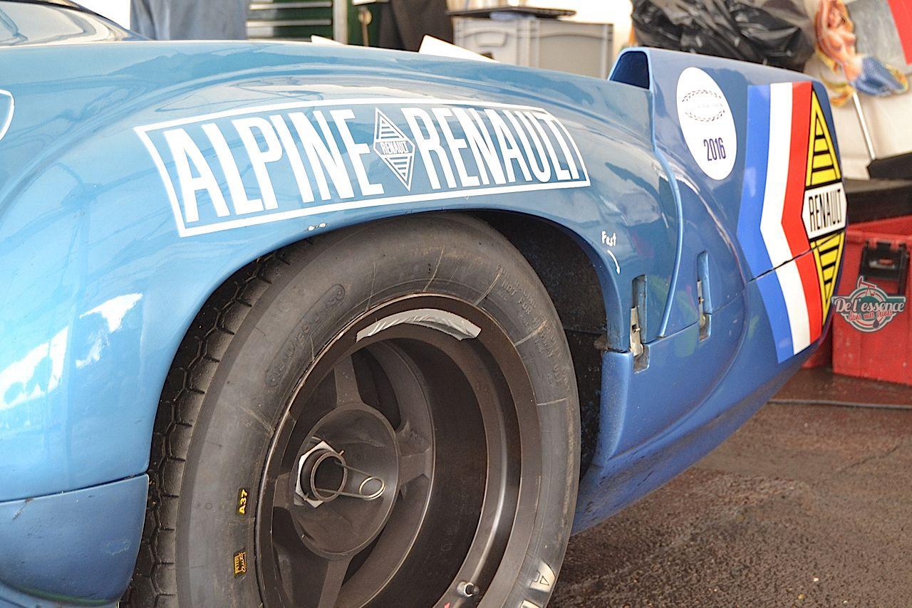 """L'unique Alpine A220 """"courte"""" : Après la piste, le rallye ! 53"""
