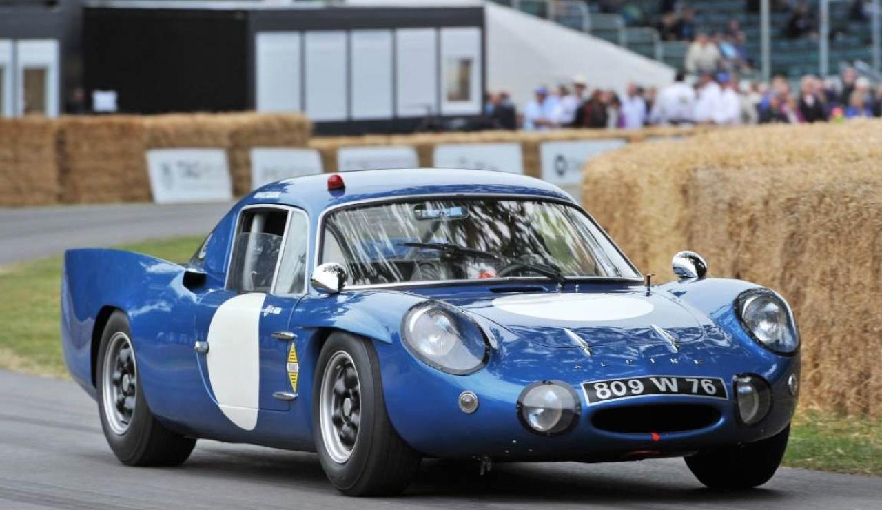 """L'unique Alpine A220 """"courte"""" : Après la piste, le rallye ! 59"""