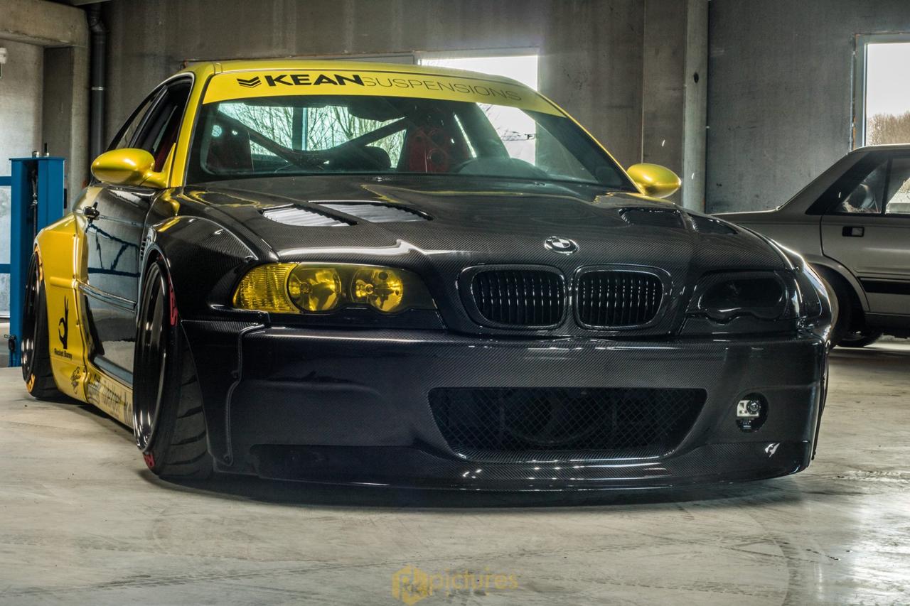 BMW M3 E46 - Quand Kean Suspensions croise la route de Rocket Bunny ! 22