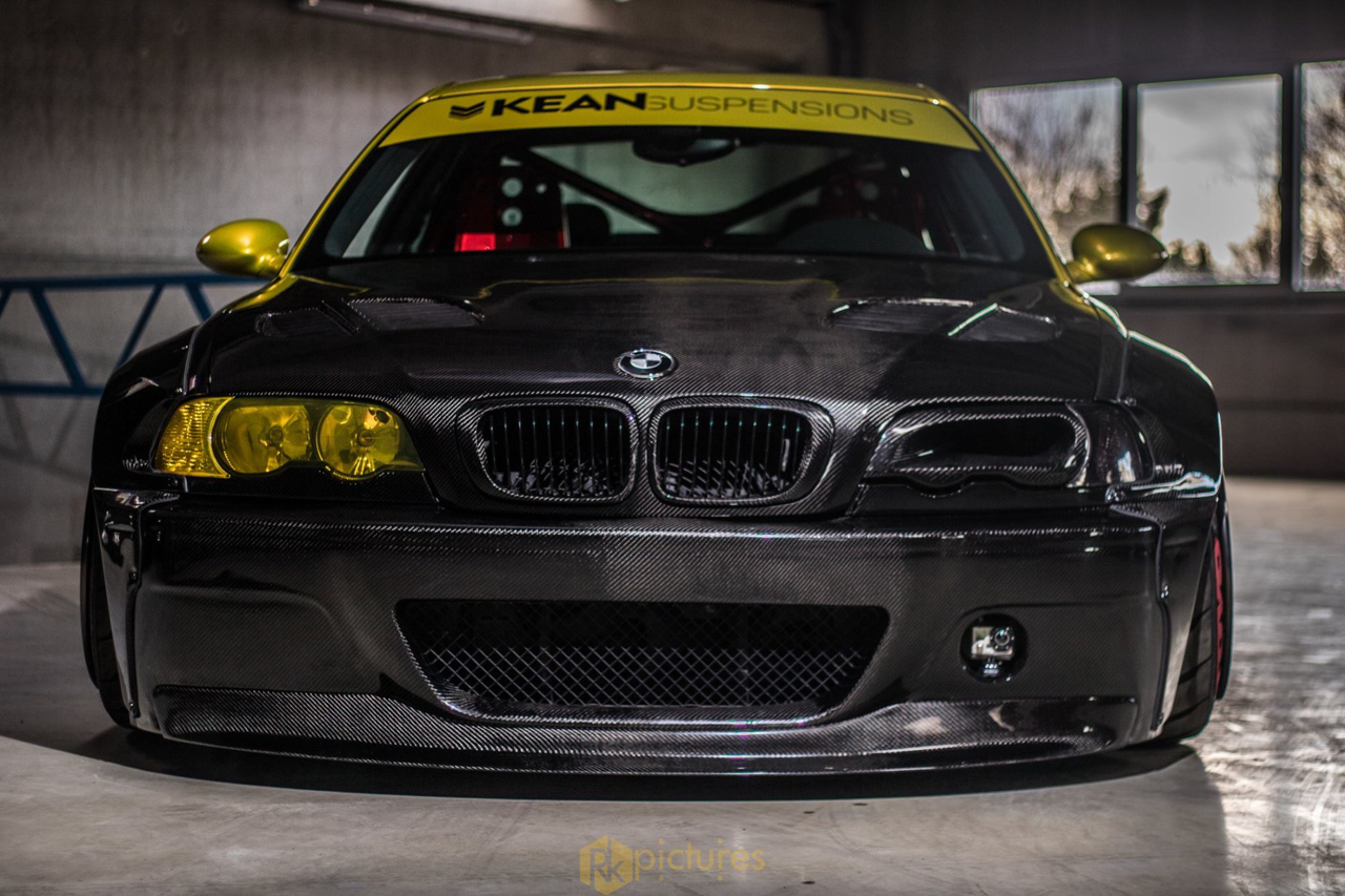 BMW M3 E46 - Quand Kean Suspensions croise la route de Rocket Bunny ! 1