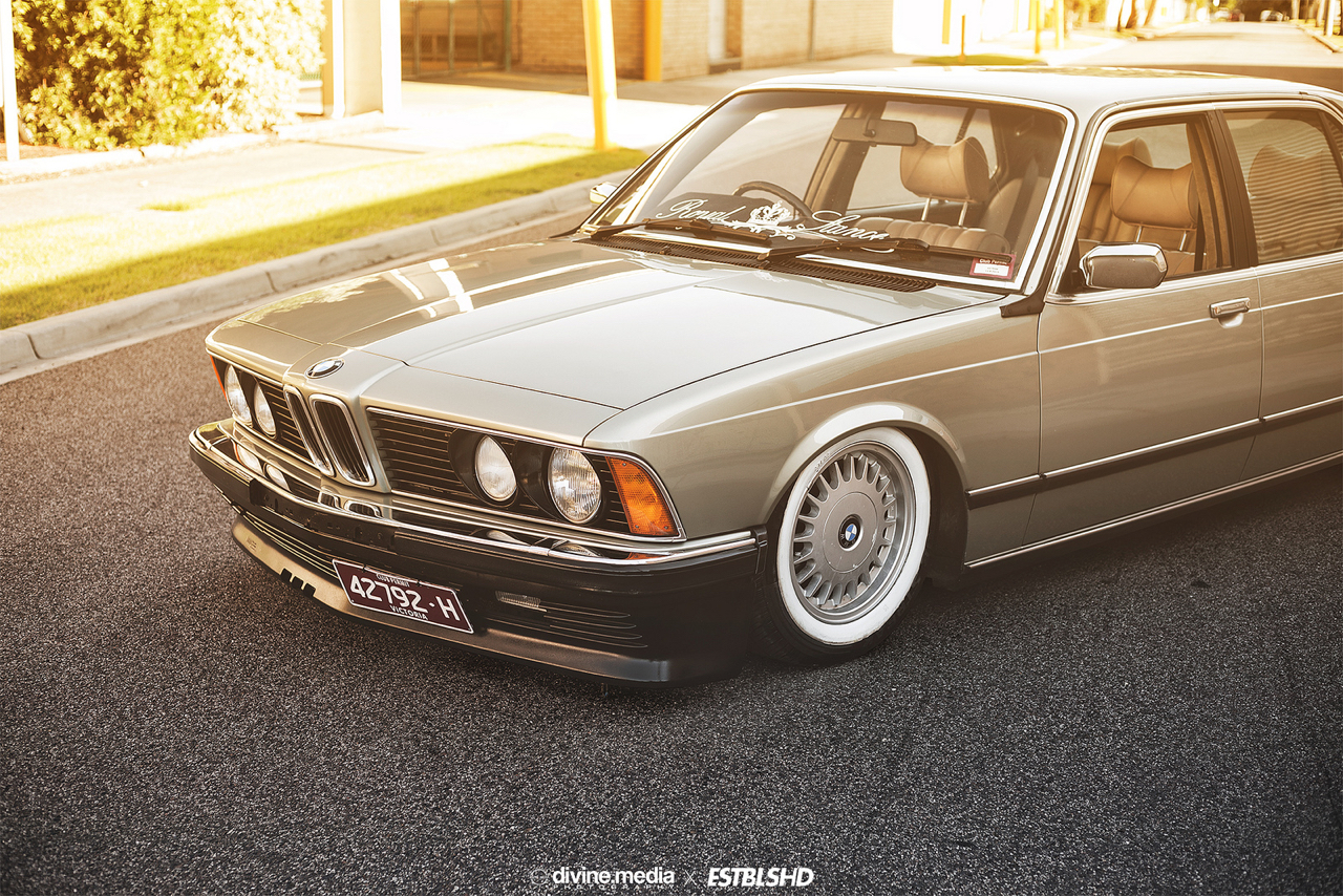 Bagged BMW 733i E23 - Youngtim'air ! 29