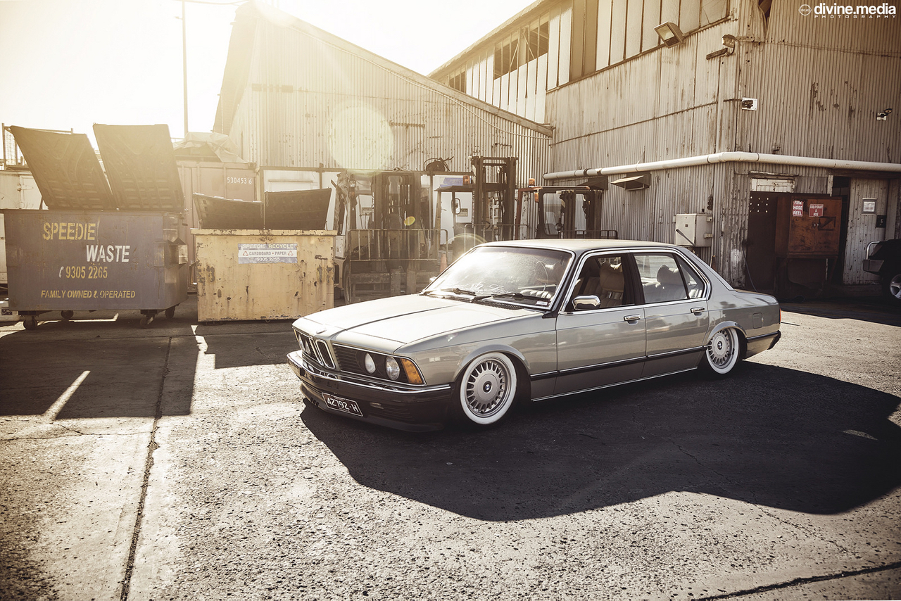 Bagged BMW 733i E23 - Youngtim'air ! 31