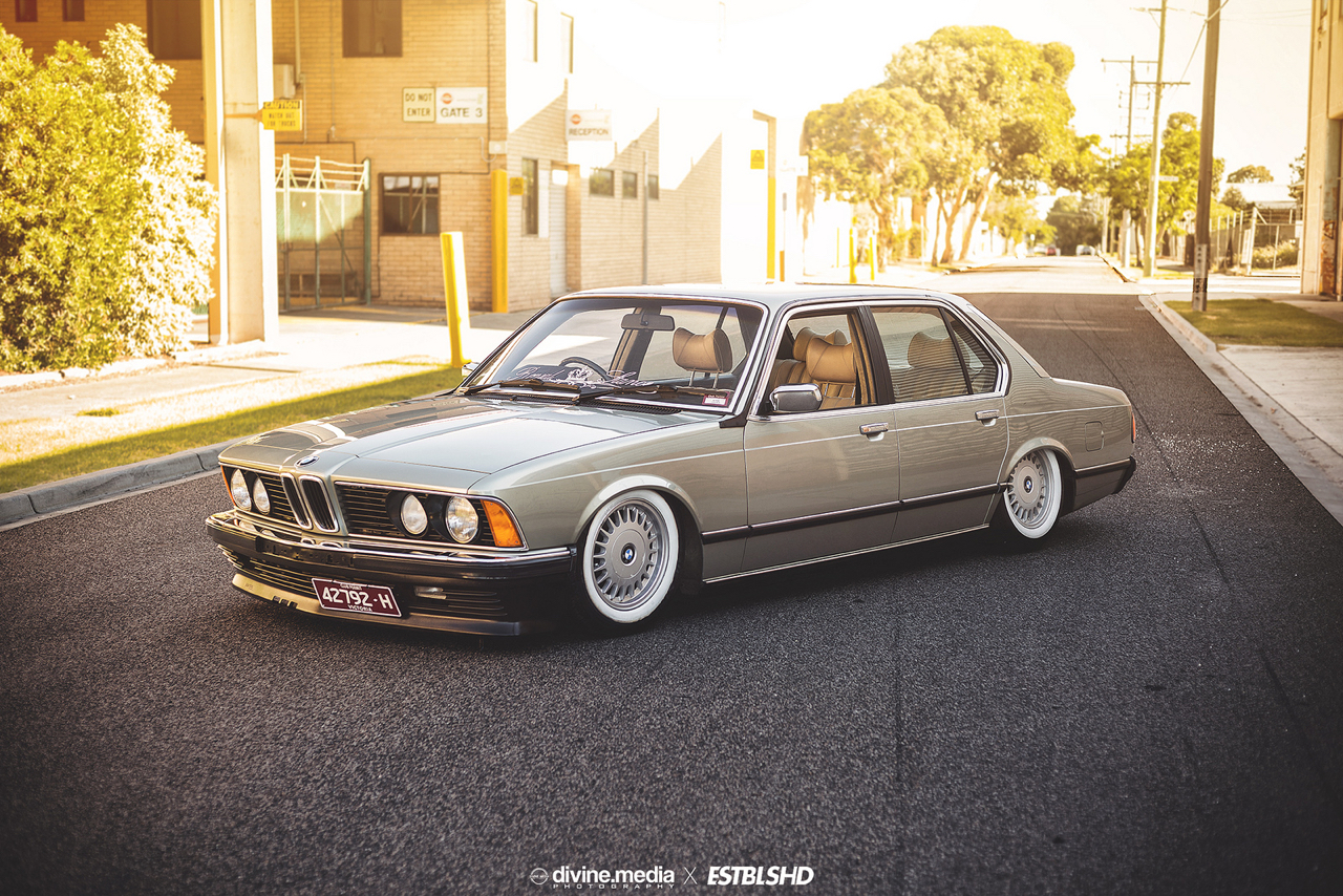 Bagged BMW 733i E23 - Youngtim'air ! 37