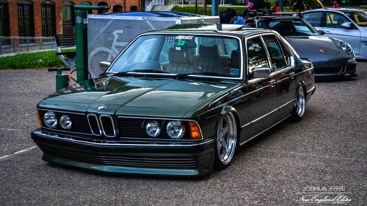 Bagged BMW 735i E23... Drogue d'air ! 25