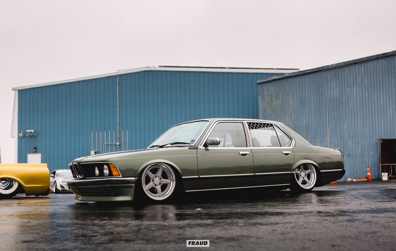 Bagged BMW 735i E23... Drogue d'air ! 32