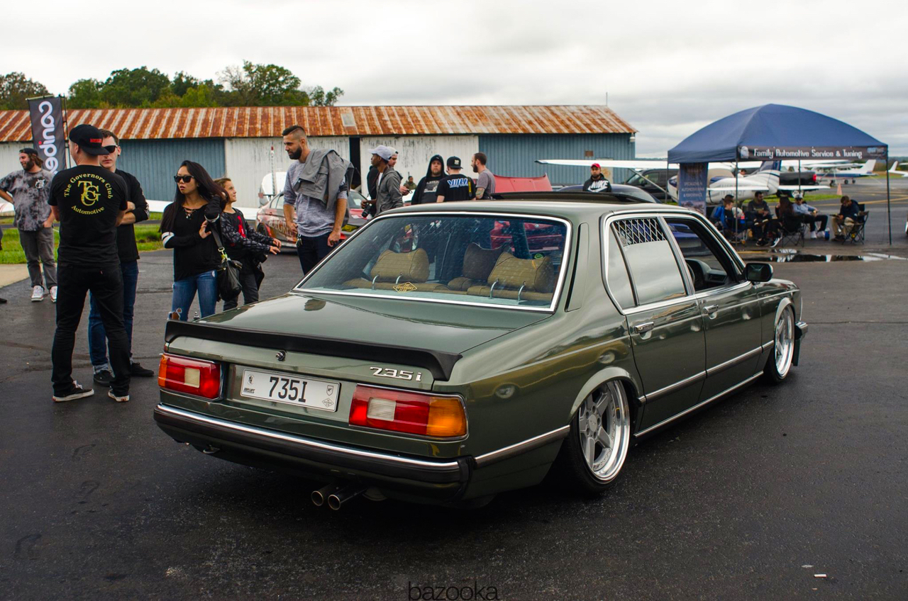 Bagged BMW 735i E23... Drogue d'air ! 31