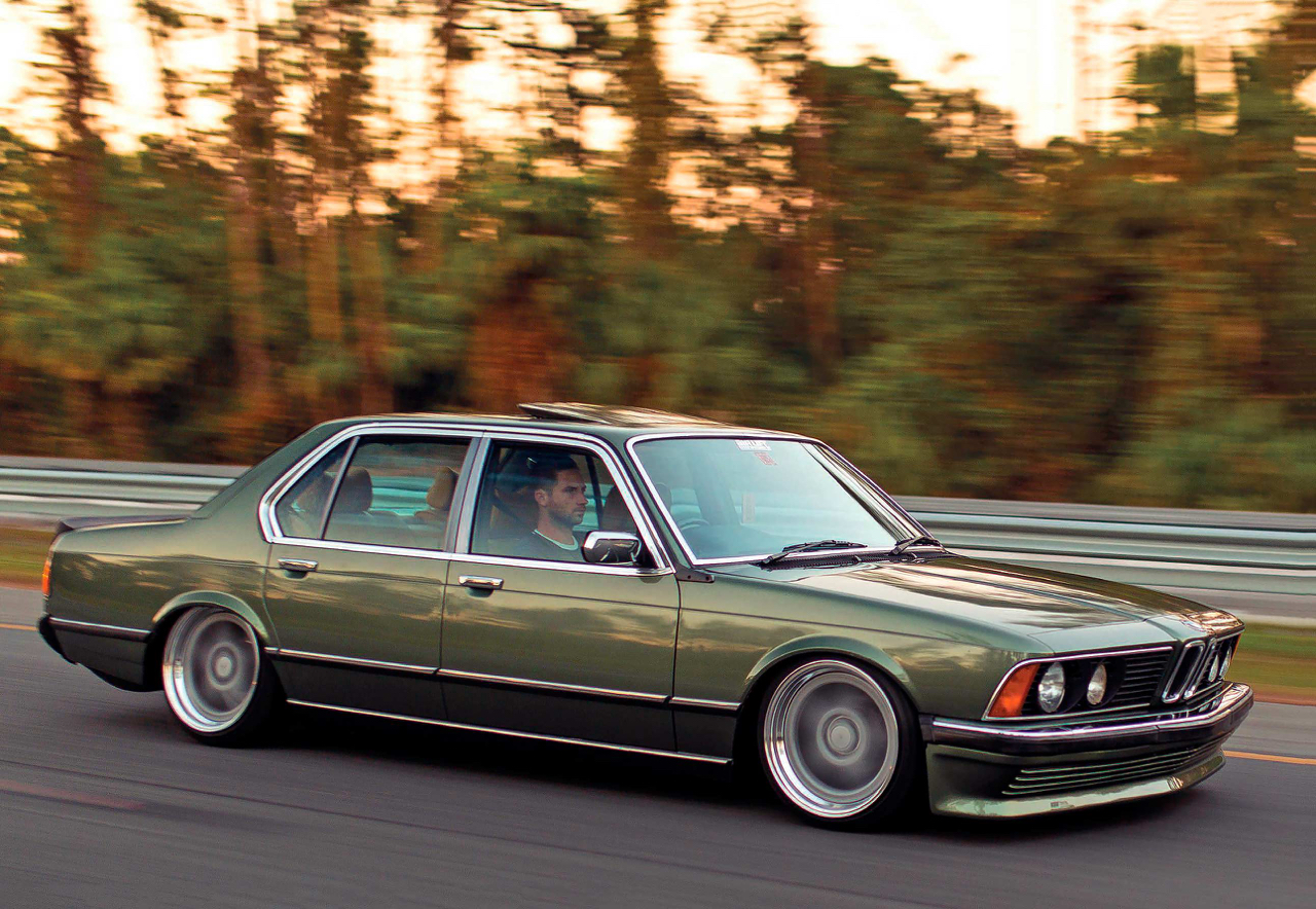 Bagged BMW 735i E23... Drogue d'air ! 29