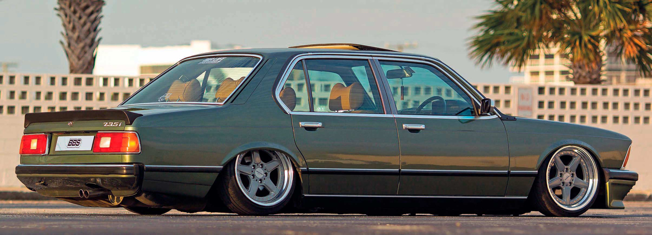 Bagged BMW 735i E23... Drogue d'air ! 24