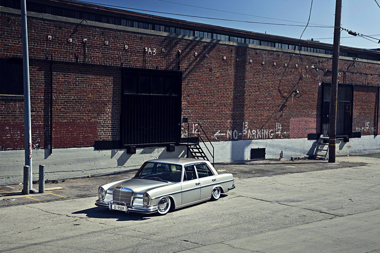 Bagged Mercedes 280 SE W108 - Pairfect ! 44
