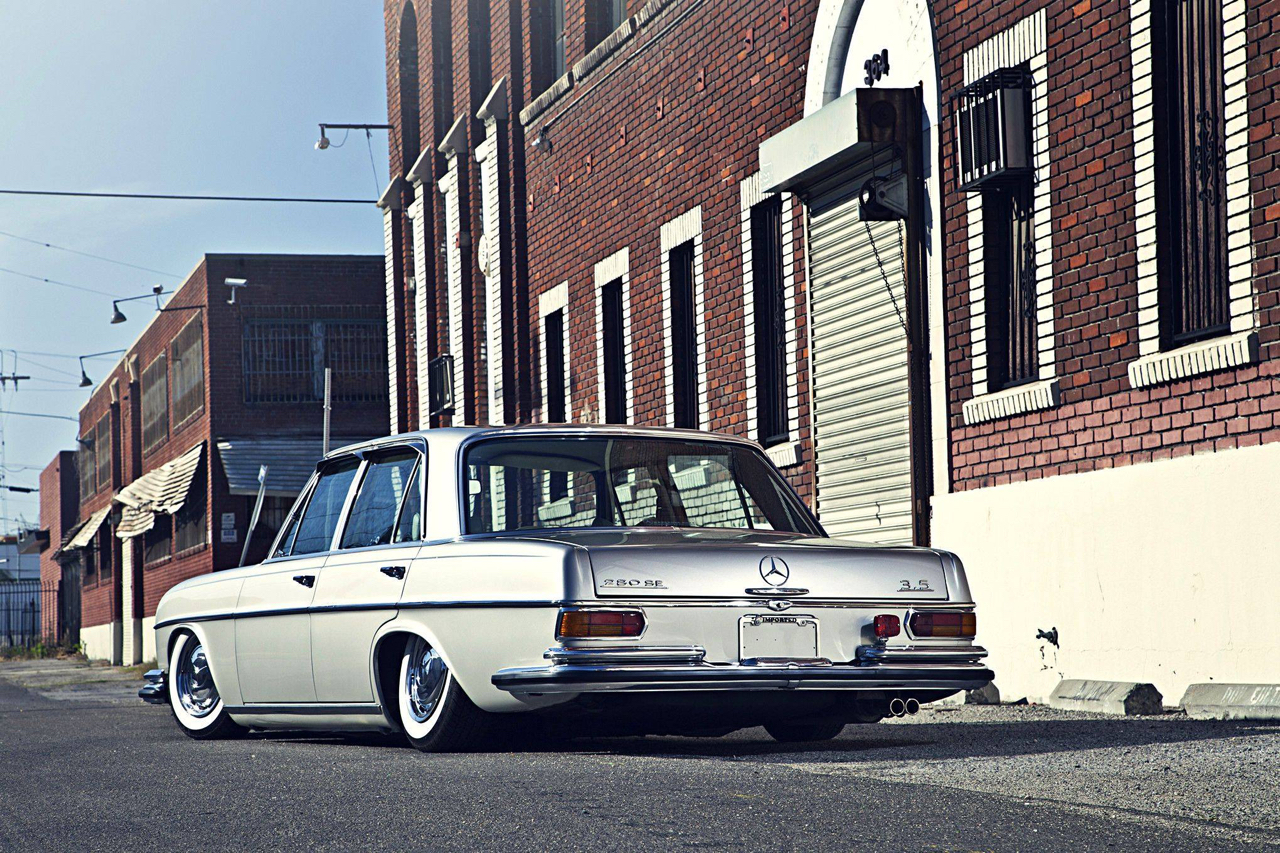 Bagged Mercedes 280 SE W108 - Pairfect ! 37