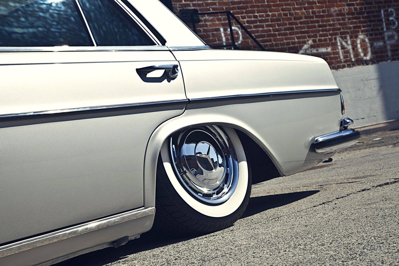 Bagged Mercedes 280 SE W108 - Pairfect ! 36