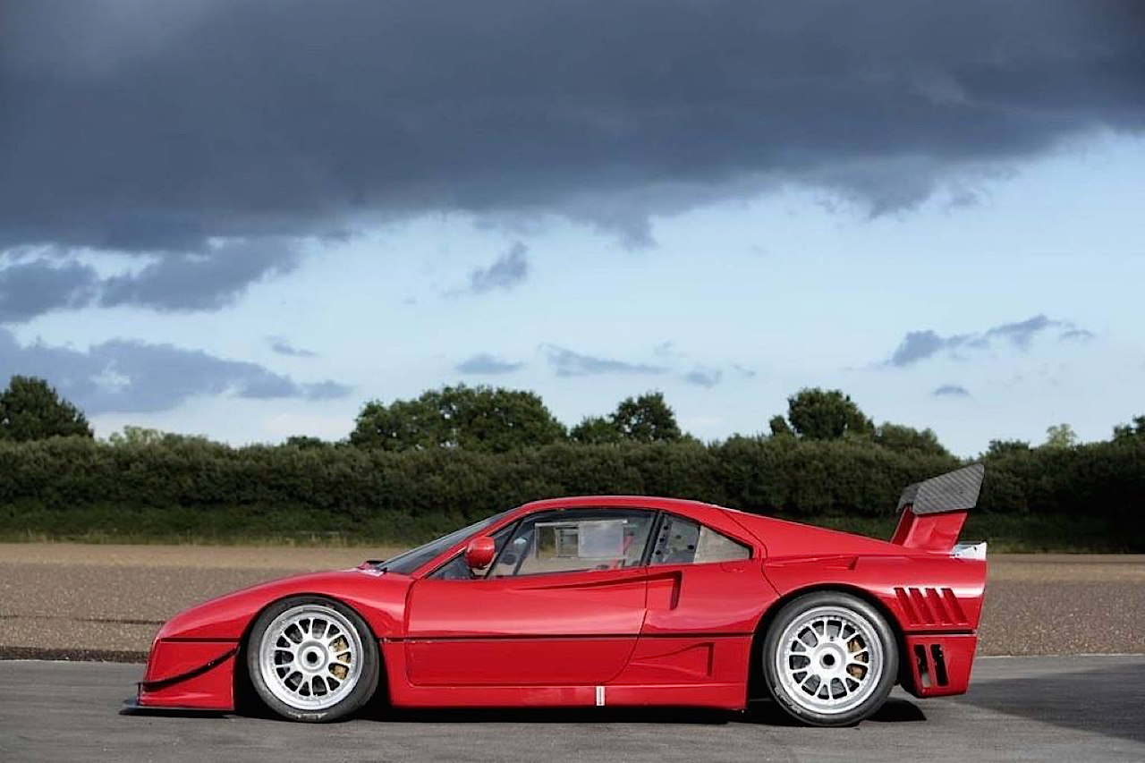 Ferrari 288 GTO Evoluzione - Proto mort né ! 34