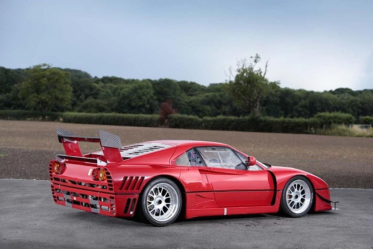 Ferrari 288 GTO Evoluzione - Proto mort né ! 32