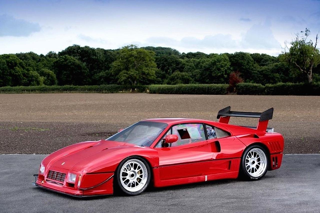 Ferrari 288 GTO Evoluzione - Proto mort né ! 36