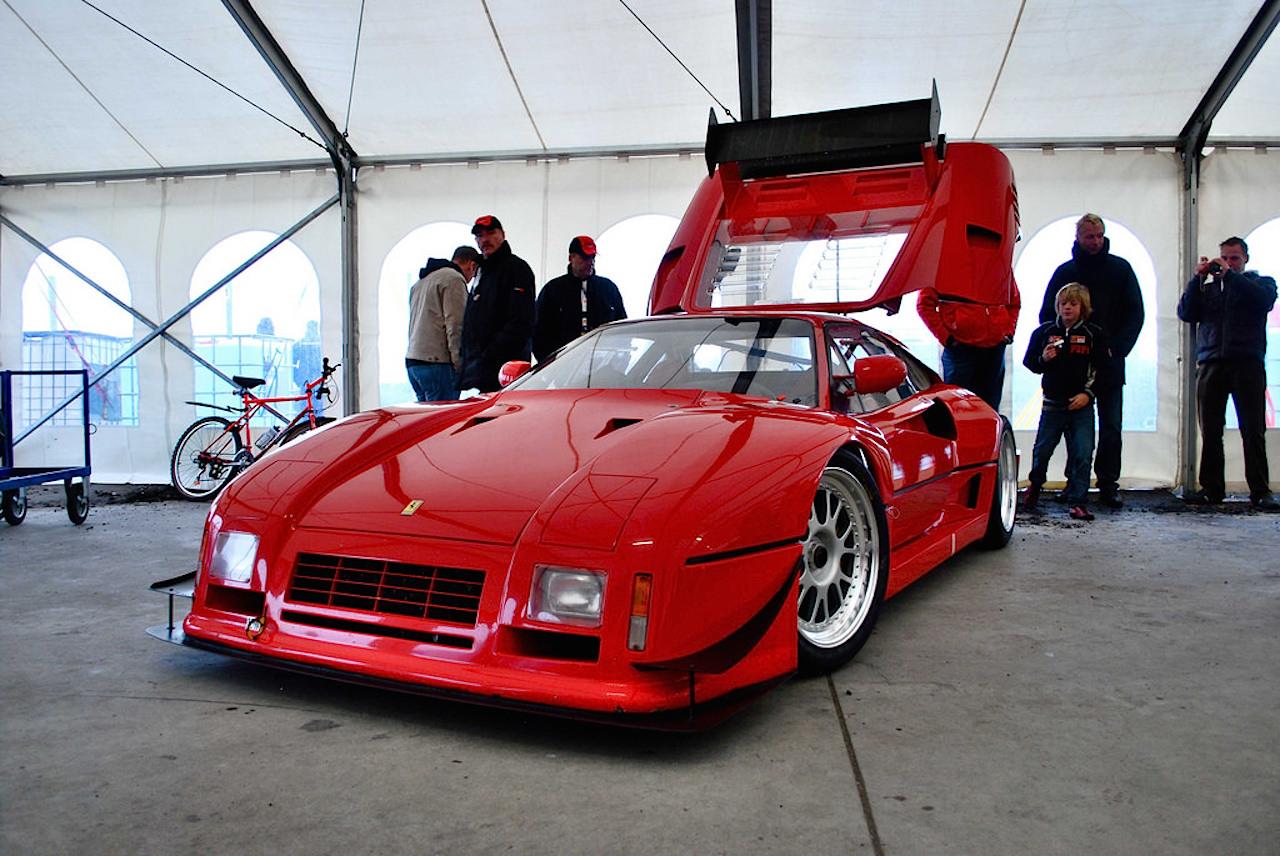 Ferrari 288 GTO Evoluzione - Proto mort né ! 39