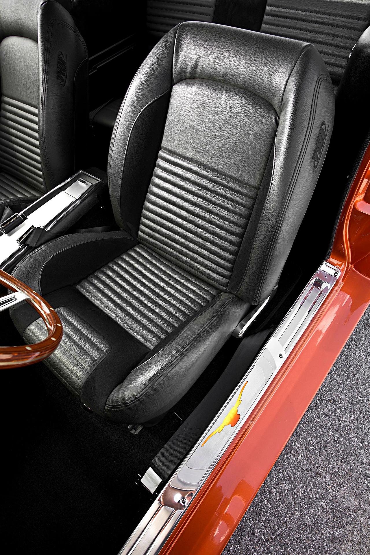Ford Mustang Fastback '67 - De la restau' au custom... 43