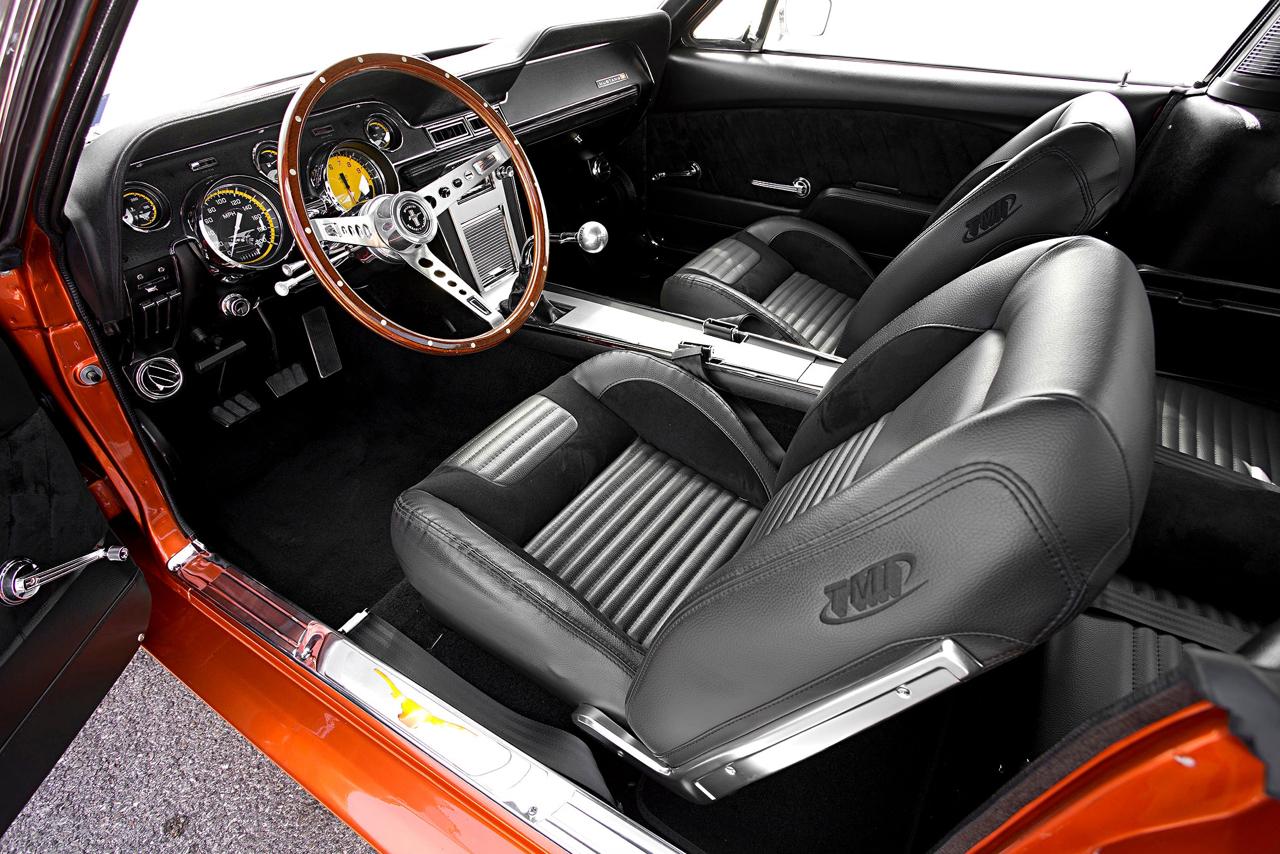 Ford Mustang Fastback '67 - De la restau' au custom... 49