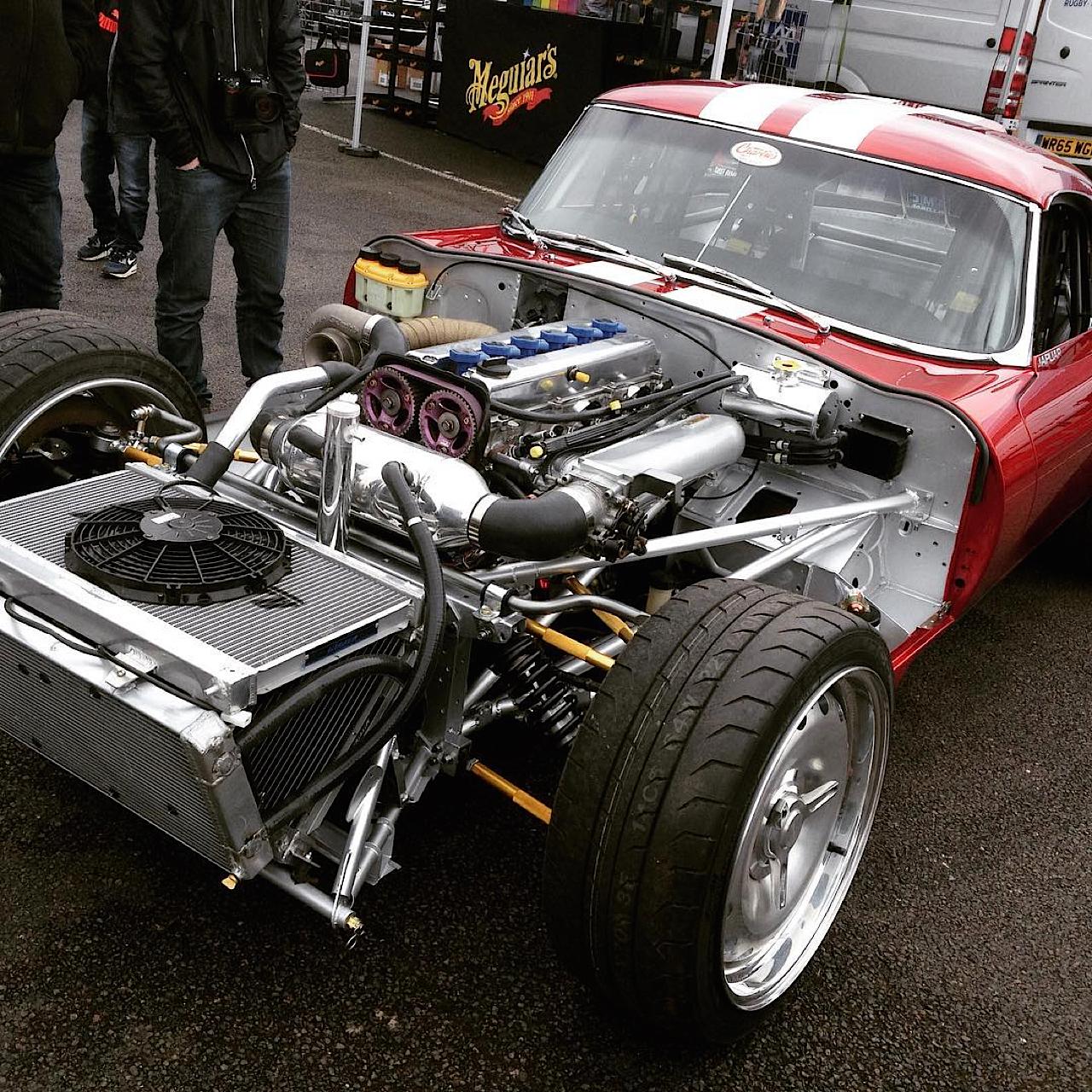 '66 Jaguar Type E - Avec un 1JZ ça glisse mieux ! 38