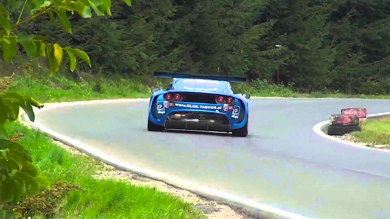 Hillclimb Monster : Lotus Exige K24 Supercharged... The Voice ! 8