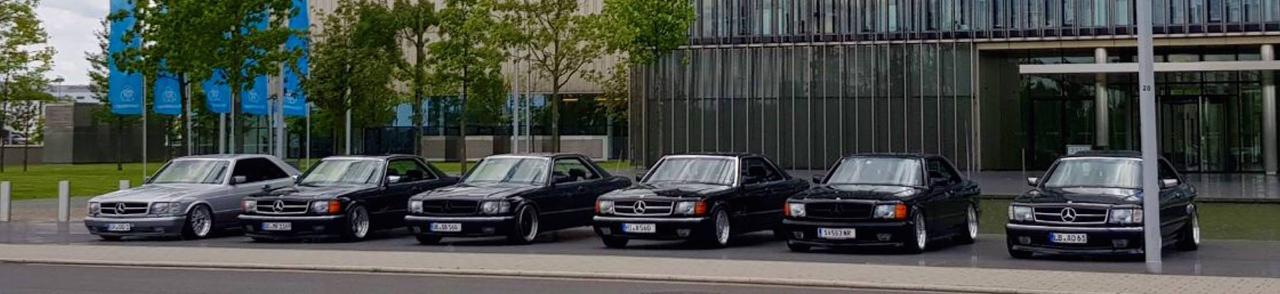 Des Mercos W126 et C126 totalement déchainées et énervées ! 23