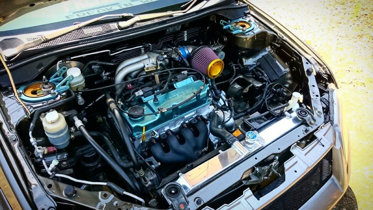 Clinched Mitsubishi Lancer - Basic Static ! 30