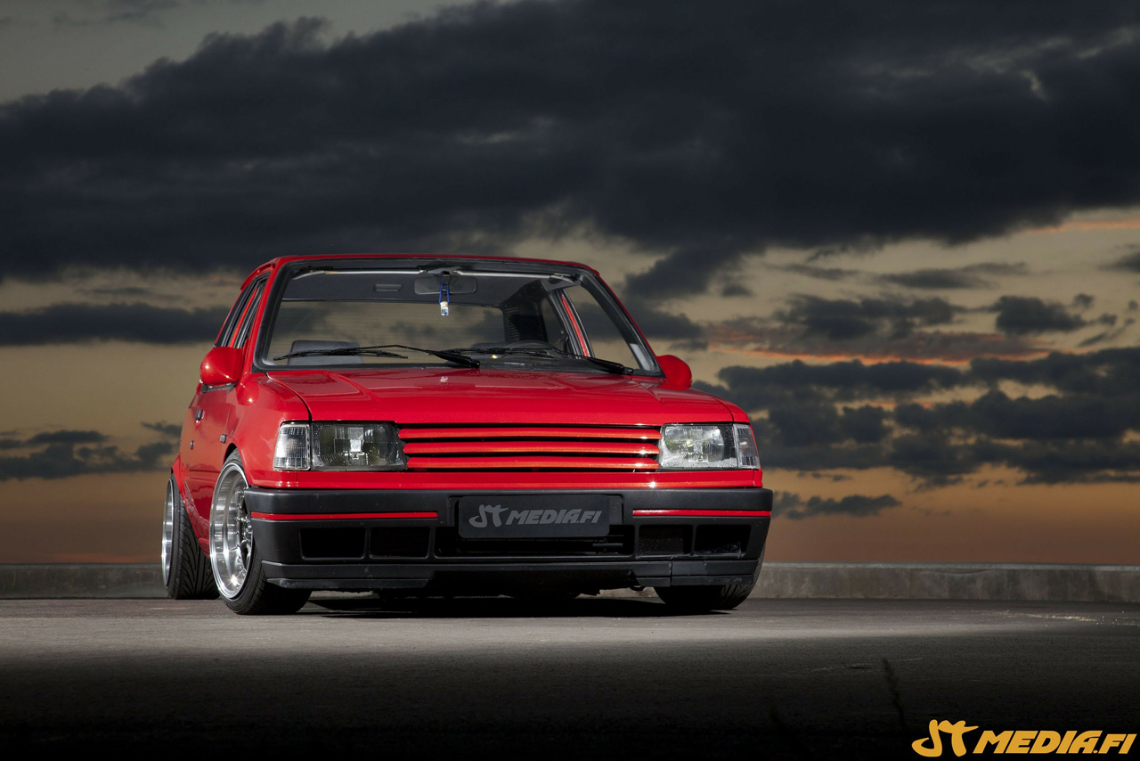 Peugeot 309 GTi 16 Turbo... Presque sleeper ! 19