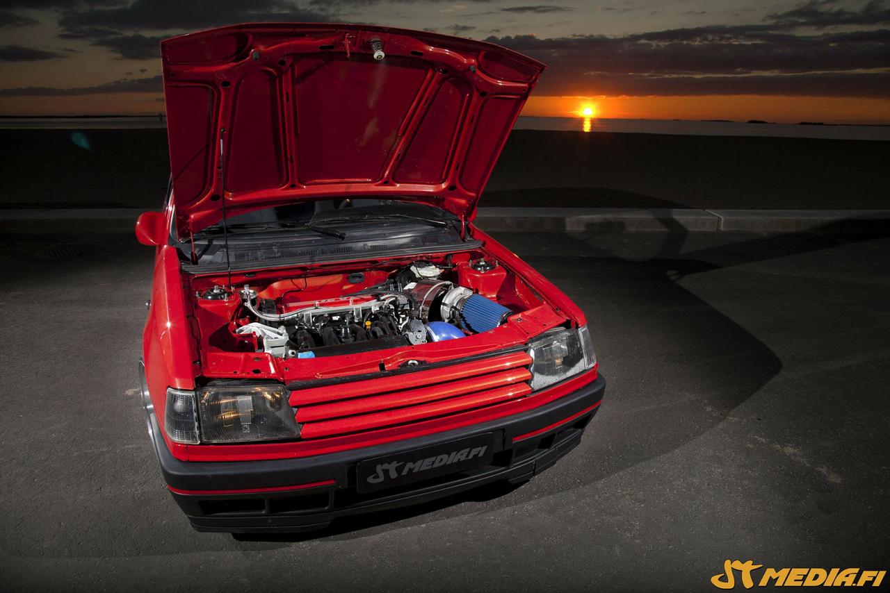 Peugeot 309 GTi 16 Turbo... Presque sleeper ! 21