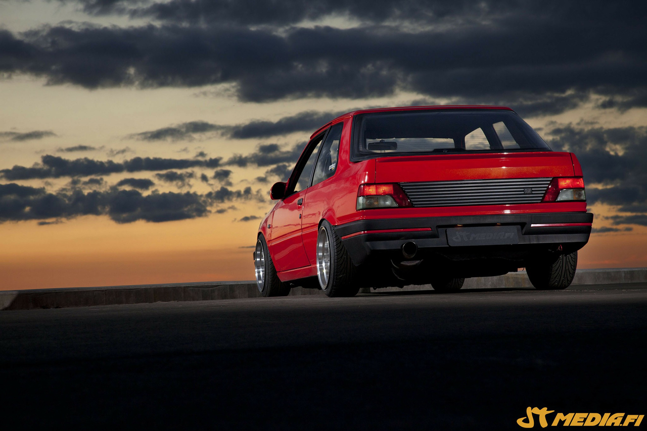 Peugeot 309 GTi 16 Turbo... Presque sleeper ! 20