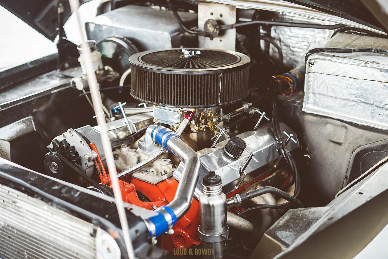 '56 Studebaker - Le bestiau de chez Titan Customs 42